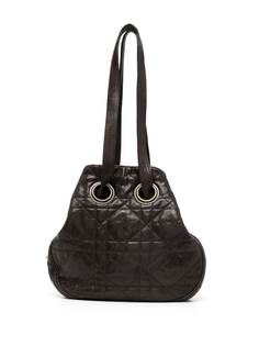 Christian Dior сумка на плечо Cannage Dior Bourse 2010-го года