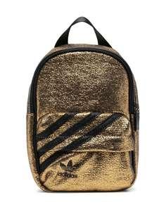 adidas мини-рюкзак с эффектом металлик
