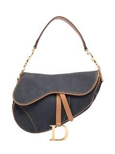 Christian Dior сумка-тоут Saddle pre-owned