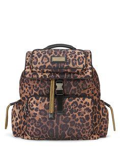 Dolce & Gabbana рюкзак с леопардовым принтом