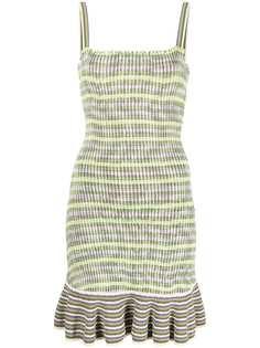 SANDRO платье в полоску