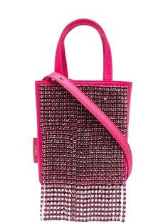 tubici сумка-тоут с бахромой из кристаллов