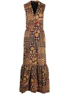 A.N.G.E.L.O. Vintage Cult платье макси 1960-х годов с принтом пейсли