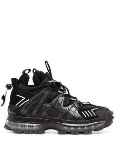 Emporio Armani массивные кроссовки Man на шнуровке