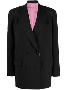 Valentino peak-lapel double-breasted blazer