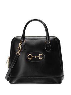 Gucci сумка-тоут с пряжкой Horsebit