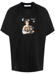 Off-White футболка Caravaggio Boy Over