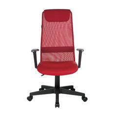 Кресло руководителя БЮРОКРАТ KB-8, на колесиках, сетка, красный [kb-8/r/tw-97n]