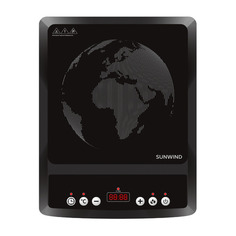 Плита Индукционная SunWind SCI-0501 черный стеклокерамика (настольная)