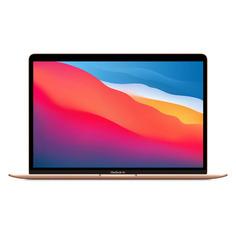 "Ноутбук APPLE MacBook Air M1 MGND3RU/A, 13.3"", IPS, Apple M1 8ГБ, 256ГБ SSD, Mac OS, MGND3RU/A, золотой"
