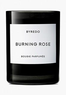 Свеча ароматическая Byredo BURNING ROSE Fragranced Candle, 240 г