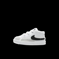 Детские кроссовки Nike Blazer Mid - Белый
