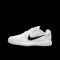 Теннисные кроссовки для дошкольников/школьников NikeCourt Jr. Vapor Pro - Белый