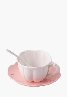 Чашка чайная с блюдцем Perfect Rooms Flowers
