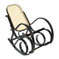 Кресло-качалка ТС 55х98х91 см см ротанг венге TC