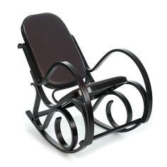 Кресло-качалка ТС 55х98х91 см экокожа венге TC