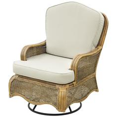 Кресло-качалка Rattan grand Manchester medium brown
