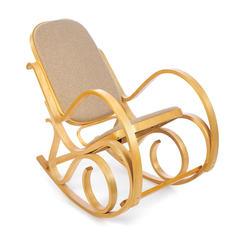 Кресло-качалка ТС 55х98х91 см ткань бежевый TC