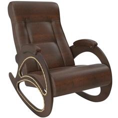 Кресло-качалка Комфорт-мебель Лесли Венге Крокодил