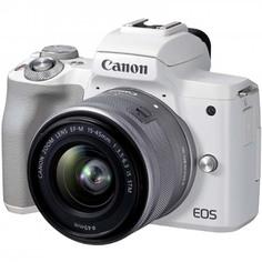Фотоаппарат системный Canon EOS M50 Mark II 15-45mm f/3.5-6.3 IS STM, White