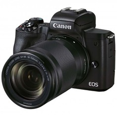 Фотоаппарат системный Canon EOS M50 Mark II 18-150mm f/3.5-6.3 IS STM, Black