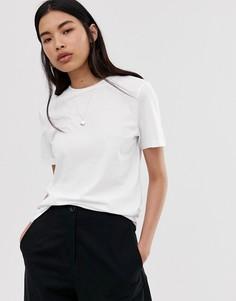 Белая футболка Selected Femme-Белый