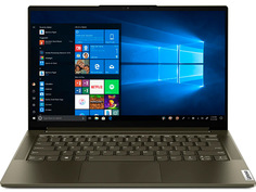 Ноутбук Lenovo Yoga Slim7 14ITL05 Dark Green 82A3004QRU (Intel Core i7-1165G7 2.8 GHz/16384Mb/1Tb SSD/Intel Iris Xe Graphics/Wi-Fi/Bluetooth/Cam/14/1920x1080/Windows 10)