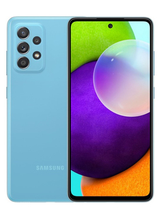 Сотовый телефон Samsung SM-A525F Galaxy A52 8/256Gb Blue Выгодный набор + серт. 200Р!!!