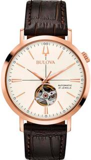 Японские наручные мужские часы Bulova 97A136. Коллекция Automatic