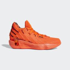 Баскетбольные кроссовки Dame 7 Fire Inside adidas Performance