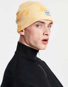 Оранжевая шапка-бини с принтом тай-дай Herschel Supply Co. Elmer-Оранжевый цвет