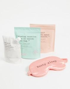 Набор скрабов для тела с маской для сна Frank Body – The Baby Mumma-Бесцветный