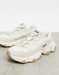 Белые кроссовки Fila 1998-Белый