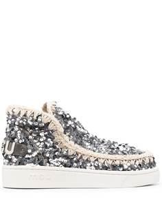Mou ботинки с пайетками