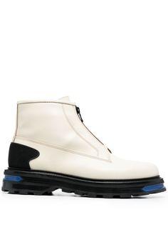 Jil Sander ботинки на молнии