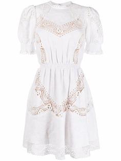 Michael Michael Kors платье с английской вышивкой