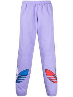 adidas спортивные брюки с принтом