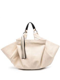ASH сумка-тоут с бахромой
