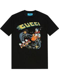 Gucci футболка с принтом Donald Duck из коллаборации с Disney