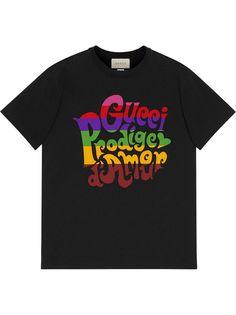 Gucci футболка с надписью