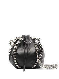 Comme Des Garçons Noir Kei Ninomiya сумка-тоут из искусственной кожи с заклепками