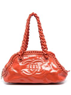 Chanel Pre-Owned сумка Bowling 2008-го года с логотипом CC
