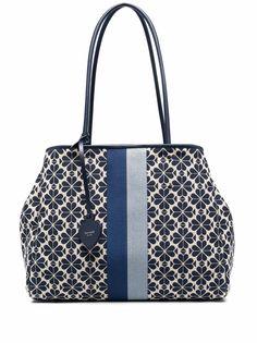 Kate Spade большая сумка-тоут с цветочным узором