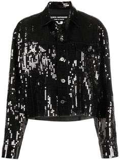 Junya Watanabe куртка-рубашка с пайетками