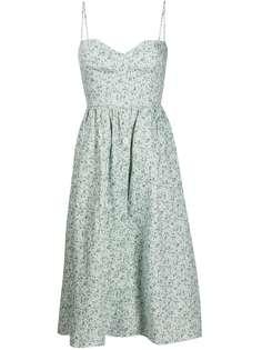 Reformation платье миди Cale с цветочным принтом