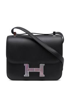 Hermès сумка на плечо Optique Constance 24 2019-го года Hermes