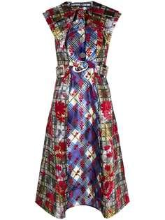 Chopova Lowena платье миди со вставками и поясом
