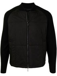 Emporio Armani стеганая куртка-бомбер