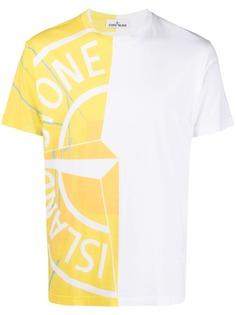 Stone Island футболка с логотипом