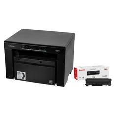 МФУ лазерный CANON i-Sensys MF3010 bundle, + картридж, A4, лазерный, черный